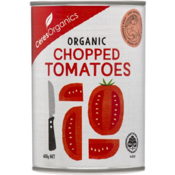 Photo of Ceres Organics Organic Chopped Tomatoes