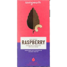 Photo of Loving Earth Chocolate - Raw Raspberry Mylk (44% Cacao)