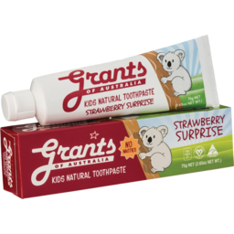 Photo of Grants Kids Toothpaste - Strawberry Surprise