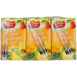 Photo of Golden Circle Pine Mango Fruit Drink With Vitamin C 6ml