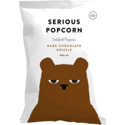 Photo of Serious Popcorn Chocolate Dizzle 100g