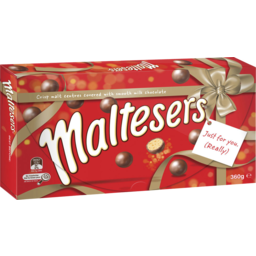 Photo of Maltesers Milk Chocolate Gift Box 360g