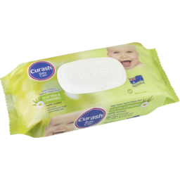 Photo of Curash Soap Free Super Thick Baby Wipes 80pk