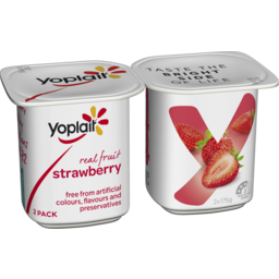 Photo of Yoplait Yoghurt Strawberry 2x175gm