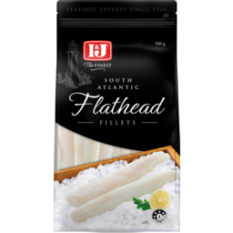 Photo of I & J The Finest South Atlantc Fladhead Fillets 500g