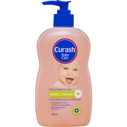 Photo of Curash Babycare 2 In 1 Shampoo & Conditioner 400ml