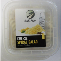 Photo of Bush Road Salad Cheese Spiral 250g