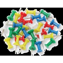 Photo of Marbig Push Pins 30pk