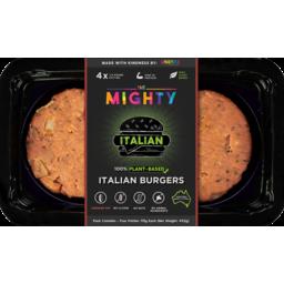 Photo of Unrealco Vegan Italian Burger 4pk