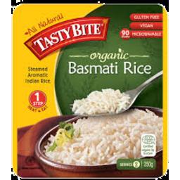 Photo of Tasty Bite Organic Basmati Rice 250gm