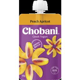 Photo of Chobani Greek Yogurt Peach Apricot Limited Batch 140g