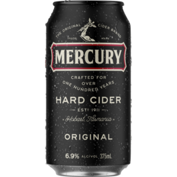 Photo of Mercury Hard Cider Can