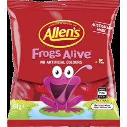 Photo of Allen's Frogs Alive 64g