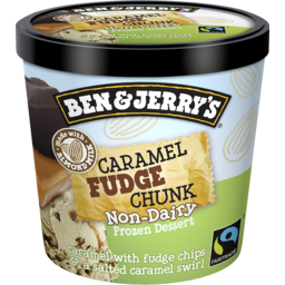 Photo of Ben And Jerry's Ben & Jerry`S Non-Dairy Frozen Dessert Caramel Fudge Chunk Mini Cup 120ml