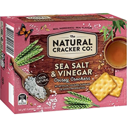 Photo of Natural Cracker Co Sea Salt & Vinegar 160gm
