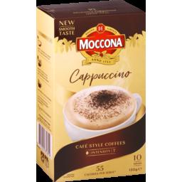 Photo of Moccona Sachets Cappuccino 10pk
