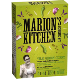 Photo of Marions Kitchen Green Curry Kit 475gm