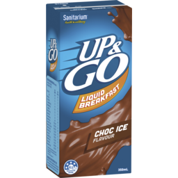 Photo of Sanitarium Up&Go Liquid Breakfast Choc Ice 350ml