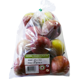 Photo of Earths Garden Organics Fuji Apples 1kg