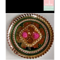 Photo of Diwali Decorative Thali No - Dp-3