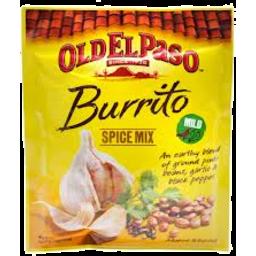 Photo of Old El Paso Spice Burrito Mix 40gm
