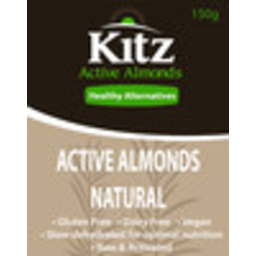 Photo of Kitz - Nuts - Active Almonds - Natural - 150gm