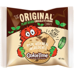 Photo of Cookie Time Cookie The Original Plant Based Chocolate Chunk 60g