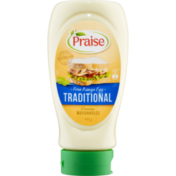 Photo of Praise Traditional Free Range Egg Mayonnaise 490gm