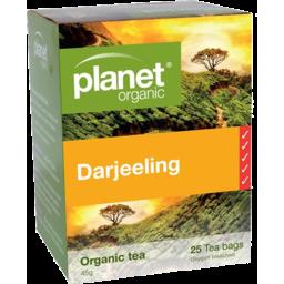 Photo of Planet Organic - Darjeeling Black - 25 Tea Bags