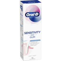 Photo of Oral-B Sensitivity And Gum All Day Protection Toothpaste 90g