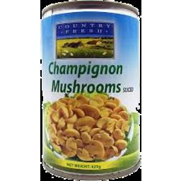 Photo of Country Fresh Champignon Sliced 425g