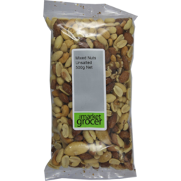 Photo of The Market Grocer Mixed Nuts Unsalted 500gm