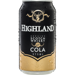 Photo of Highland Scotch & Cola Can
