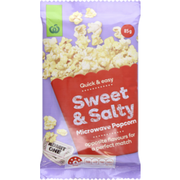 Photo of WW Microwave Popcorn Sweet & Salty 85g