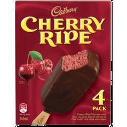 Photo of Cadbury Cherry Ripe Sticks 4pk