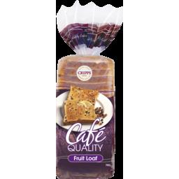 Photo of Cripps Cafe Quality Fruit Loaf 700g