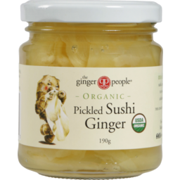 Photo of Gin Gin Pickled Sushi Ginger 190gm 190g