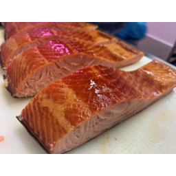 Photo of Ashmores Traditional Hot Smoked Salmon  Portion R/W