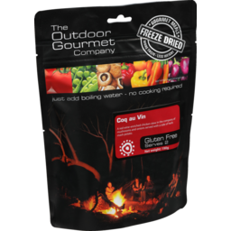 Photo of The Outdoor Gourmet Company Coq Au Vin Gluten Free Two Serve 190g