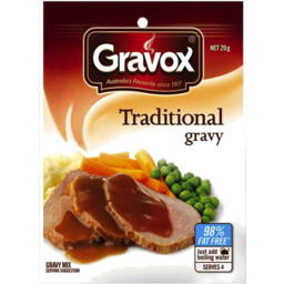 Photo of Gravox Gravy Mix Traditional Sachet 29gm