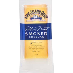 Photo of King Island Cheese Surprise Bay Cheddar Smoked 170gm
