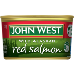Photo of John West Red Salmon 210g