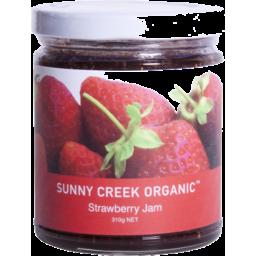 Photo of Sunny Creek Organic Strawberry Jam