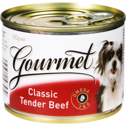 Photo of Gourmet Dog Food Tender Beef 185g