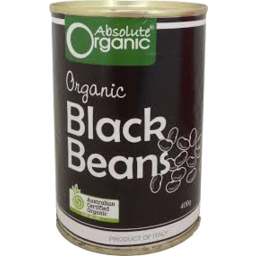 Photo of Absolute Organic Black Beans 400g