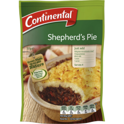 Photo of Continental Family Favourites Shepherds Pie Recipe Base 50g