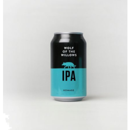 Photo of Wolf Of The Willows Homage IPA 6% 355ml