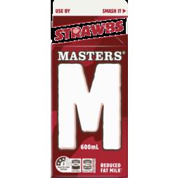 Photo of Masters Strawberry Milk 600ml