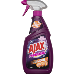 Photo of Ajax Professional Mould Remover Household Cleaner Trigger Spray Low Fumes 500ml