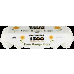 Photo of Golden Eggs 1500 Free Range Eggs 12 Pack 700gm